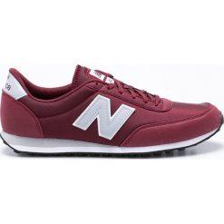 New Balance - Buty U410BUG. Brązowe buty sportowe męskie New Balance, z materiału. W wyprzedaży za 229.90 zł.