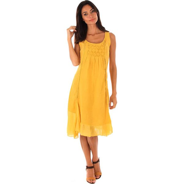 7ca974bf74 Lniana sukienka