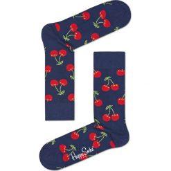 Happy Socks - Skarpety Cherry. Czerwone skarpety męskie Happy Socks, z bawełny. W wyprzedaży za 29.90 zł.