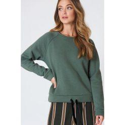 Minimum Bluza Timian - Green. Zielone bluzy damskie Minimum. W wyprzedaży za 85.19 zł.