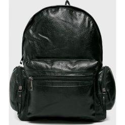 Answear - Plecak. Czarne plecaki damskie ANSWEAR, z materiału. W wyprzedaży za 49.90 zł.