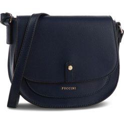 Torebka PUCCINI - BT28563 Granatowy 7A. Niebieskie torebki do ręki damskie Puccini, ze skóry ekologicznej. W wyprzedaży za 139.00 zł.