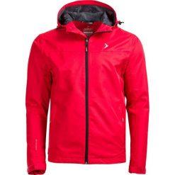 Kurtka miejska męska KUM601 - czerwony - Outhorn. Czerwone kurtki męskie Outhorn, na lato, z materiału. W wyprzedaży za 89.99 zł.