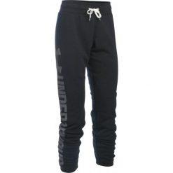 Under Armour Spodnie Dresowe Favorite Fleece Pant Black White M. Białe spodnie dresowe damskie Under Armour, z dresówki. W wyprzedaży za 169.00 zł.
