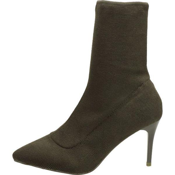 Bordowe kozaki damskie, buty SABATINA DM18 32