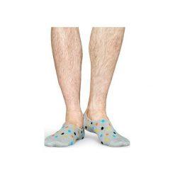 Skarpetki Happy Socks Liner Socks DOT06-9001. Czerwone skarpety męskie Happy Socks, z bawełny. Za 25.90 zł.