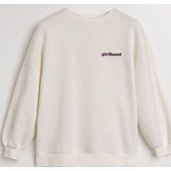 Bluza Girlhood - Kremowy. Białe bluzy damskie Reserved. Za 119.99 zł.