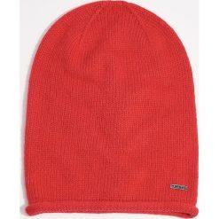 Czapka - Czerwony. Czapki i kapelusze damskie marki WED'ZE. W wyprzedaży za 14.99 zł.