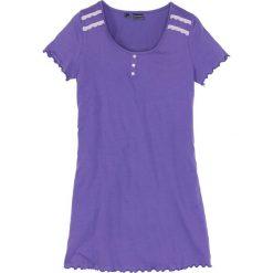 Koszula nocna bonprix hiacyntowy lila - bez. Fioletowe koszule nocne damskie bonprix. Za 34.99 zł.