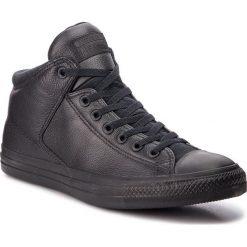 Trampki CONVERSE - Ctas High Street Hi 161473C Black/Black/Black. Czarne trampki męskie Converse, z gumy. W wyprzedaży za 259.00 zł.
