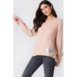 Rut&Circle Sweter dzianinowy Winnie - Pink. Różowe swetry damskie Rut&Circle, z dzianiny. Za 121.95 zł.