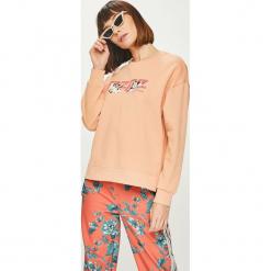 Pepe Jeans - Bluza. Różowe bluzy damskie Pepe Jeans, z aplikacjami, z bawełny. Za 319.90 zł.