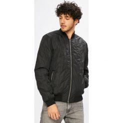 Calvin Klein Jeans - Kurtka bomber. Czarne kurtki męskie Calvin Klein Jeans, z elastanu. Za 649.90 zł.