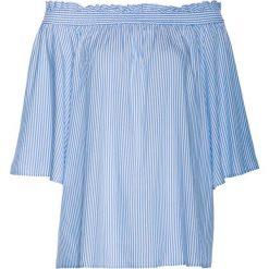 Tunika bonprix niebiesko-biały w paski. Tuniki damskie marki bonprix. Za 59.99 zł.