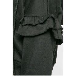 Answear - Bluza. Szare bluzy damskie ANSWEAR, z bawełny. W wyprzedaży za 39.90 zł.