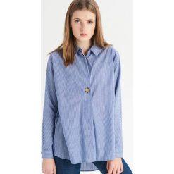 Koszula w paski - Niebieski. Koszule damskie marki SOLOGNAC. W wyprzedaży za 29.99 zł.