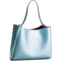 Torebka CREOLE - K10523 Błękitny L970. Niebieskie torebki do ręki damskie Creole, ze skóry. W wyprzedaży za 209.00 zł.