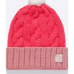 Femi Pleasure - Czapka Faga. Różowe czapki i kapelusze damskie Femi Stories, z dzianiny. W wyprzedaży za 89.90 zł.