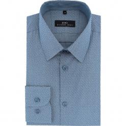 Koszula MARCO 16-07-10-K. Szare koszule męskie Giacomo Conti, z bawełny, z klasycznym kołnierzykiem. Za 259.00 zł.