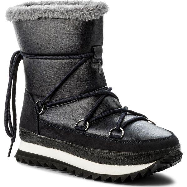 383e7bbe1330 Śniegowce JENNY FAIRY - LS4331-02 Granatowy - Kozaki damskie marki ...