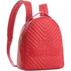 Plecak LOVE MOSCHINO - JC4263PP06KI0500 Rosso. Czerwone plecaki damskie Love Moschino, ze skóry ekologicznej. Za 929.00 zł.