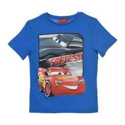 Koszulka w kolorze niebieskim. T-shirty dla chłopców marki Reserved. W wyprzedaży za 19.95 zł.