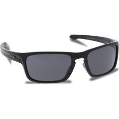 Okulary przeciwsłoneczne OAKLEY - Sliver Stealth OO9408-0156 Matte Black/Prizm Grey. Czarne okulary przeciwsłoneczne męskie Oakley, z tworzywa sztucznego. W wyprzedaży za 449.00 zł.