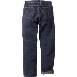 """Dżinsy ocieplane """"CLASSIC FIT"""" bonprix ciemnoniebieski. Jeansy męskie marki bonprix. Za 124.99 zł."""