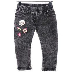 Primigi Jeansy Dziewczęce 98 Czarny. Czarne jeansy dla dziewczynek Primigi, z jeansu. W wyprzedaży za 109.00 zł.