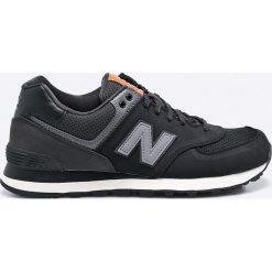 New Balance - Buty ML574GPG. Czarne buty sportowe męskie New Balance, z materiału. W wyprzedaży za 239.90 zł.