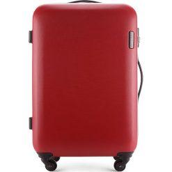 Walizka średnia 56-3-612-30. Czerwone walizki damskie Wittchen, z gumy. Za 249.00 zł.