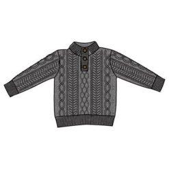 Carodel Sweter Chłopięcy 122/128 Szary. Swetry dla chłopców marki Reserved. Za 55.00 zł.
