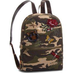 Plecak DESIGUAL - 18WAXF81 4003. Brązowe plecaki damskie Desigual, z materiału. W wyprzedaży za 279.00 zł.