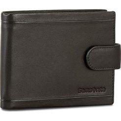 Duży Portfel Męski SAMSONITE - 001-01460-0294-01 Black. Czarne portfele męskie Samsonite, ze skóry. Za 219.00 zł.