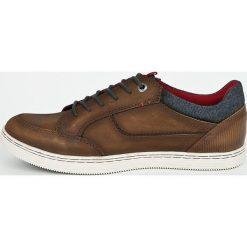 S. Oliver - Buty. Brązowe buty sportowe męskie S.Oliver, z materiału. W wyprzedaży za 219.90 zł.