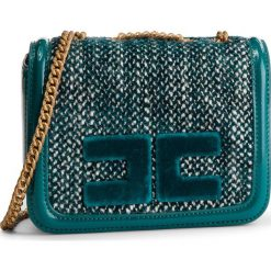 Torebka ELISABETTA FRANCHI - BS-55A-87E2 Pavone 804. Zielone torebki do ręki damskie Elisabetta Franchi, z materiału. Za 1,049.00 zł.