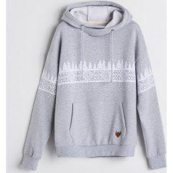 Bluza z motywem zimowym - Jasny szar. Szare bluzy męskie Reserved. Za 139.99 zł.