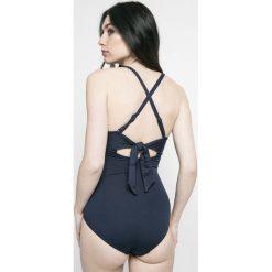 Seafolly - Strój kąpielowy Seafolly. Szare kostiumy jednoczęściowe damskie Seafolly. W wyprzedaży za 429.90 zł.
