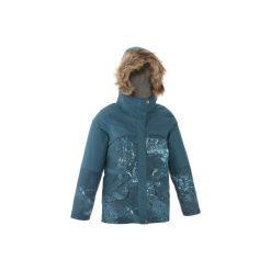 Kurtka SH500 X-WARM dla dzieci. Szare kurtki i płaszcze dla dziewczynek QUECHUA. Za 169.99 zł.
