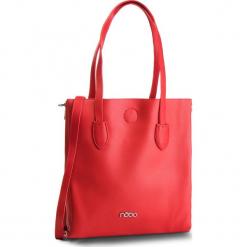 Torebka NOBO - NBAG-F0750-C005  Czerwony. Czerwone torebki do ręki damskie Nobo, ze skóry ekologicznej. W wyprzedaży za 159.00 zł.