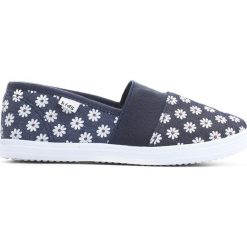 Granatowe Tenisówki Dancing Feets. Niebieskie buty sportowe dziewczęce Born2be, z materiału. Za 29.99 zł.
