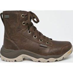 Columbia - Buty Camden Outdry Leather Chukka. Brązowe trekkingi męskie Columbia, z materiału. Za 629.90 zł.