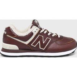 New Balance - Buty ML574WND. Szare buty sportowe męskie New Balance, z materiału. Za 399.90 zł.