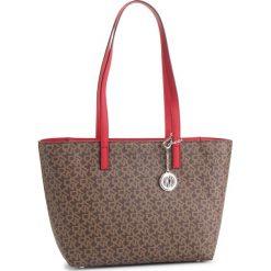 Torebka DKNY - Bryant Lg Zip Tote R74AJ014  Mocha Logo-Rouge 253. Brązowe torebki do ręki damskie DKNY, ze skóry ekologicznej. Za 809.00 zł.