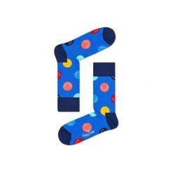 Skarpetki Happy Socks SMI01-6000. Brązowe skarpety męskie Happy Socks, z bawełny. Za 24.43 zł.