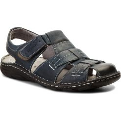 Sandały LASOCKI FOR MEN - MI18-ROUTER-02 Granatowy. Niebieskie sandały męskie Lasocki For Men, z materiału. W wyprzedaży za 139.99 zł.
