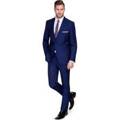 Garnitur CRISTIANO 1 E15-34P. Niebieskie garnitury męskie Giacomo Conti, z tkaniny. Za 699.00 zł.