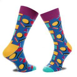 Skarpety Wysokie Męskie HAPPY SOCKS - NIN01-6000 Granatowy Kolorowy. Niebieskie skarpety męskie Happy Socks, w kolorowe wzory, z bawełny. Za 34.90 zł.
