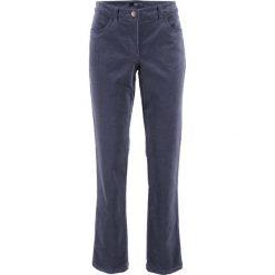 Spodnie sztruksowe ze stretchem bonprix jagodowy. Spodnie materiałowe damskie marki DOMYOS. Za 79.99 zł.