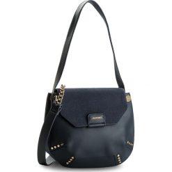 Torebka MONNARI - BAG5540-013 Navy. Niebieskie torebki do ręki damskie Monnari, z materiału. W wyprzedaży za 139.00 zł.